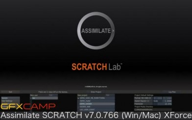 Assimilate SCRATCH v7.0.766 (Win:Mac) XForce