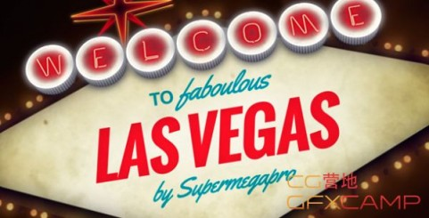 Videohive Welcome to Fabulous Vegas Logo Opener Animation