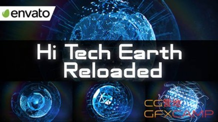 Hi Tech Earth Reloaded Element 3D